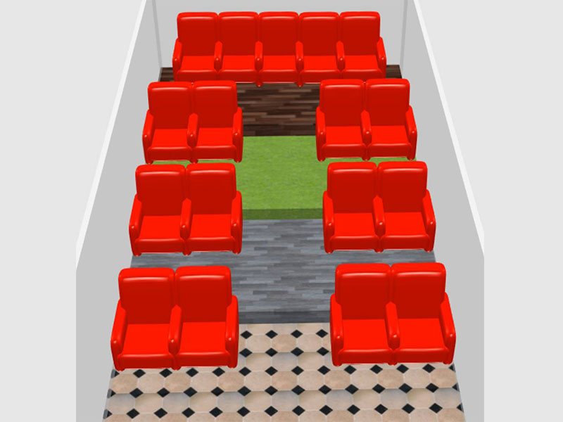 Home Theater Recliner Architecture