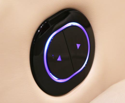 Backlit Oval Switch