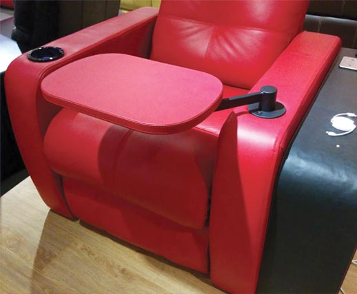 Cladded Recliner Accessories